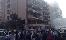 Two Terrorist Blasts near Iranian Embassy in Beirut: At Least 23 Martyred