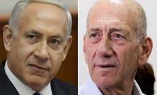 Verbal War between Bibi, Olmert over Iran
