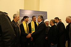 Hizbullah Accepts Condolences for Martyr Lakkis