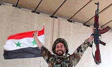 Syrian Army Advances in Yabroud, Terrorists Collapse