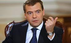 Medvedev: Russia Ready for New Sanctions over Ukraine
