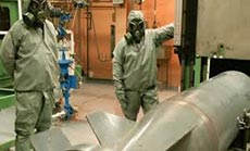 Syria Chemical Handover Nearly Complete