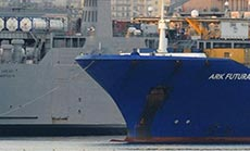 Ship Carrying Syria CW Arrives in Italy