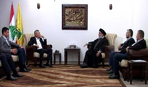 Sayyed Nasrallah Receives MP Franjieh, Discuss Latest Developments