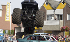 'Monster Truck' Crash at Annual Show in Netherlands: Casualties