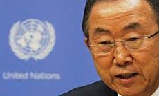 UN Chief Ban Ki-Moun Slams 'Israeli' Settlement Building