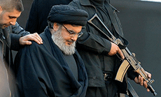 Sayyed Nasrallah Tours in Bekaa, Advises Terrorists: Die of Cold or Retreat