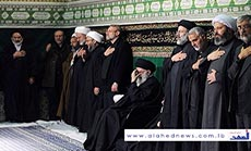 Imam Khamenei Attends Mourning Ceremonies for Ashoura in Tehran