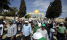 Palestinians Call for 'Day of Rage' against 'Israeli' Aggressions at al-Aqsa