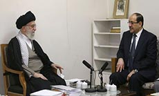 Imam Khamenei Commends Al-Maliki Efforts to Promote Stability in Iraq