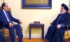 Sayyed Nasrallah Receives Al-Maliki: 'ISIL' Has No Future in Region