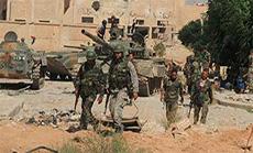 Syrian Army Advances in Daraa