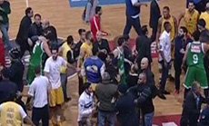 Lebanon Basketball Fans Banned from Games after Brawl