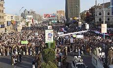 Yemenis Rally in Support for Ansarullah