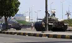 Yemeni Rebels Deep into Aden
