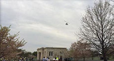 New Security Breach: Mini Copter Lands on US Capitol Lawn