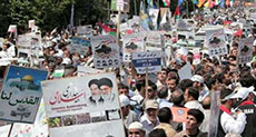Millions of Iranians Mark Al-Quds Day