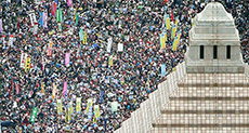 Japanese Hold Massive Rally to Protest Abe's Foreign Wars Bill