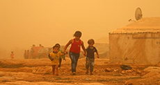 Four Dead as Sand Storm Engulfs Lebanon
