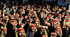 Ashura in Dahye: 'We came with love... and with the Sayyed'