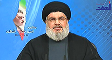 Sayyed Nasrallah to 'Israel': We're to Respond to Martyr Quntar in the Right Time, Place