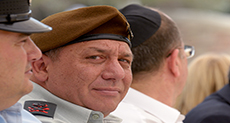Zionist Army Chief Fearfully Inspects Occupied Golan Front