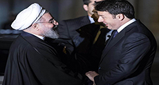 Rouhani Heads to France after Italy