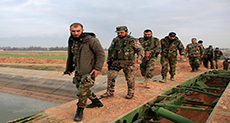 On the Front Line with the Iranian Revolutionary Guards Battling Outside Aleppo