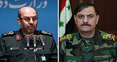 Iranian Defense Minister Congratulates Syrian Counterpart for Palmyra Victory