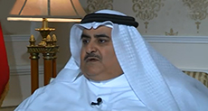Bahrain's FM: Iran Bigger Threat than 'Israel'!