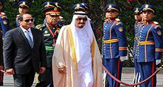 Saudi King Starts Egypt Visit in Boost for Al-Sisi