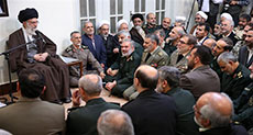 Imam Khamenei: Some Regional Armies Protect Rulers Only