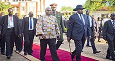 South Sudan Rebel Leader Returns