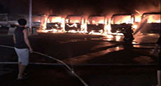 Sacked Workers in Saudi Arabia Set Fire to Buses