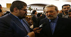 Larijani to Al-Ahed news: Sayyed Nasrallah A Brilliant Figure in ME, We Hope More of Resistance's Victories