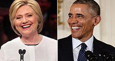 US President Obama Endorses Hillary Clinton