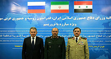 Iran, Russia, Syria Defense Meeting: Anti-Terror Cooperation on Top