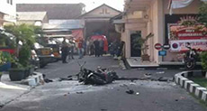 Suicide Attack on Indonesian Police Station