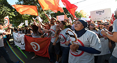 Tunisians Rally against Bill that would Pardon Graft