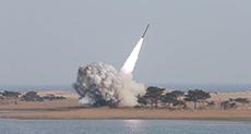 N Korea Launches Ballistic Missile toward Sea of Japan