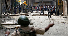 Kashmir Protests Kill Two, Injure 100+