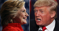 US 2016 Presidential Elections: Trump Ignites Firestorm with Remarks on Gun Rights, Clinton