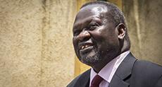 S Sudan's Machar Safe in DR Congo