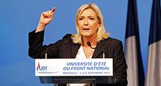 Marine Le Pen: Hillary Clinton Means War