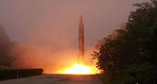 N Korea Fires Three Ballistic Missiles off East Coast