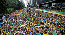 Mass Protests in Brazil against New President