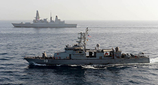 Iranian Vessel Sails Close to US Navy Ship in Gulf