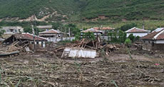 North Korea Floods Displace Tens of Thousands