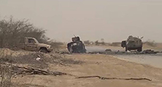 Yemeni Army Destroys Military Vehicle, Kills Crew in Jawf