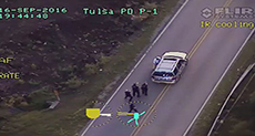 Oklahoma Shooting: Video Shows Unarmed Black Man Shot by Officer